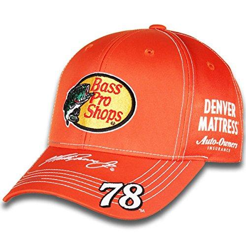 NASCAR Adult Driver/Sponsor Uniform Adjustable Hat/Cap-Martin Truex Jr. #78-Bass Pro Shops