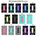 SMYTShop Case for All-New Amazon Fire HD 8 Tablet (7th Generation,2017 Release Only) - Slim Shockproof Full Body Rugged Cover with Kickstand for Fire HD 8 by SMYTShop