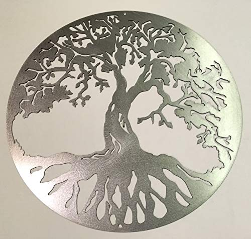 "18"" to 30"" Tree of Life Steel Home Decor Made in U.S.A. wall art, Various Finishes, sizes"