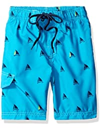 Boys' Regatta Sailboat Swim Trunk