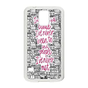 Fggcc Looking for Alaska Pattern Phone Case for SamSung Galaxy S5 I9600,Looking for Alaska S5 Case (pattern 13)