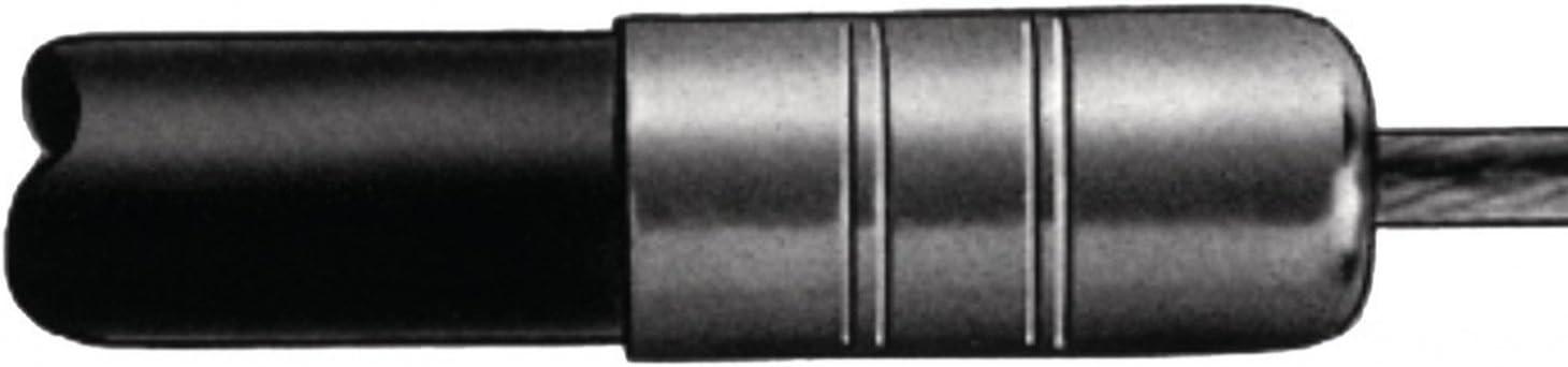 Black Unbekannt Diverse Uni 10183/2.5/mm//B Bowden Cable /& Covers /& Guides