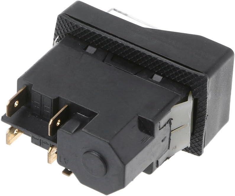 Siwetg KLD-28A Interrupteur magn/étique  /à bouton-poussoir /étanche et avec protection contre les surtensions 220 V IP55