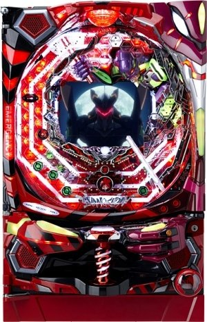 CRヱヴァンゲリヲン7 実機  紫枠の商品画像