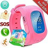 Hangang GPS Tracker Kids Safe Smart Watch SOS Call Location Finder Locator Tracker