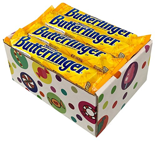 Butterfinger Candy Bars, 1.9 Ounce (Pack of 16) By CandyLab