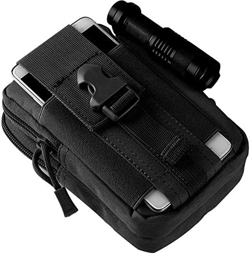 Camping Hiking Case Pouch Bag Holder w// Hook for iPhone 5S Samsung Galaxy S5 HTC