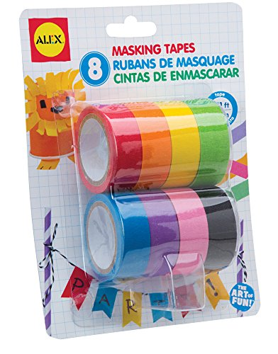 ALEX Toys Artist Studio 8 Masking Tapes