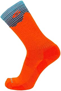 product image for Point6 Hiking Peak Light Crew Socks Orange S