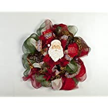 Learn How to Create Beautiful Deco Mesh Wreaths and Decorations for Home Decor Holiday Decomesh Wreath