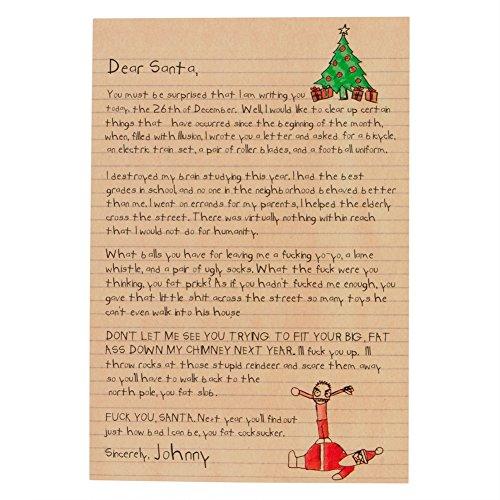 (Dear Santa Christmas Card )