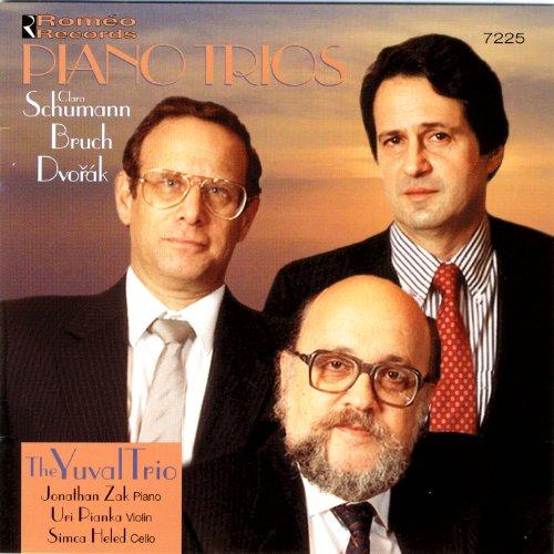 Piano Trios: Clara Schumann, Bruch, Dvořák (Yuval Trio)