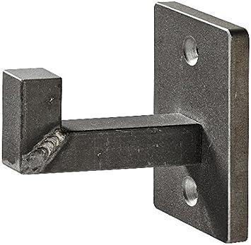 Bekannt Gedotec Wandgarderobe Stahl Garderobenhaken schwarz lackiert JC42