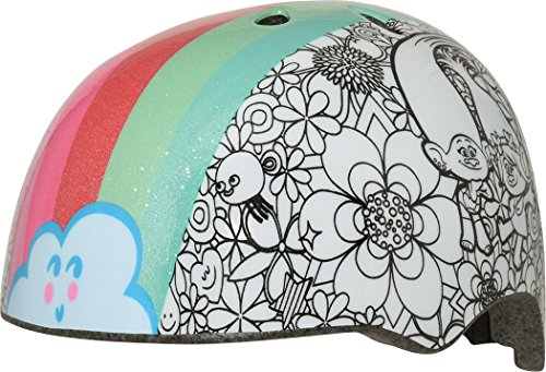 Bell Trolls Rainbow Color Me Child Multisport Helmet