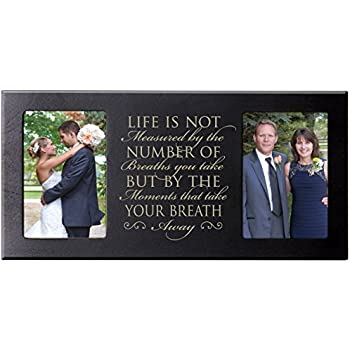 Amazon.com - Parent Wedding Gift Picture Frame Bride and Groom, Love ...