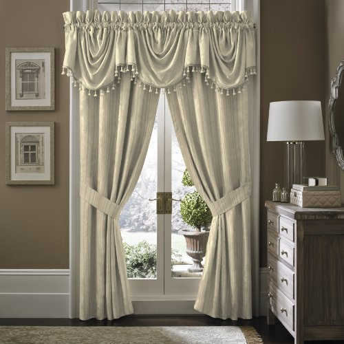 Croscill Grace Waterfall Swag Valance - Croscill Stripes Valance Shopping Results
