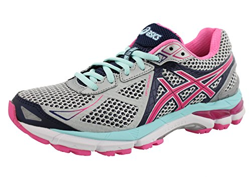 ASICS Women's GT-2000 3 Trail Running Shoe Lightning/Hot Pink/Navy 6 2A - Narrow