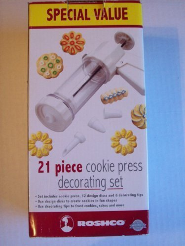 Roshco 21 Pc. Cookie Press Set