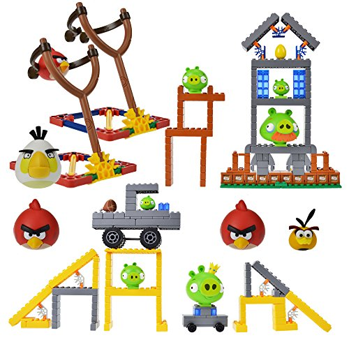 K'nex Angry Birds Mission Mayham and Hammin Around
