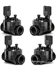 Set van 4 elektrische ventielen, 2,5 cm, 24 V, 100 HV, werkt met elektrische programmeerders van elk merk op de markt.