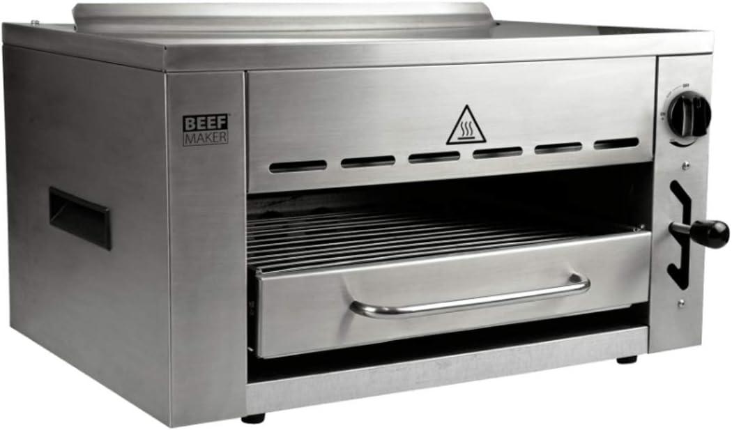 Beef Maker - Parrilla de Alta Temperatura (800 Grados ...