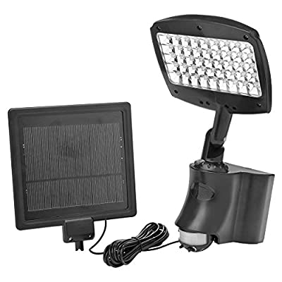 Designers Edge by Coleman Cable L955 Solar Flood Light