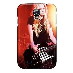 Cute High Quality Galaxy S4 Avril Lavigne Music Case
