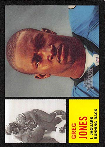 (2005 Topps Heritage Football #184 Greg Jones Jacksonville Jaguars)