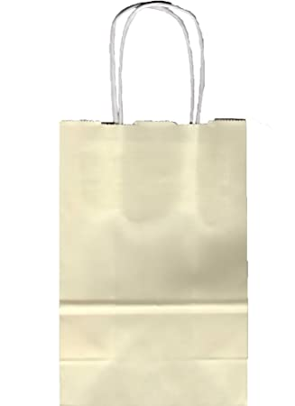 Amazon.com: 24 marfil color Prime/Rose Bolsa de la compra ...