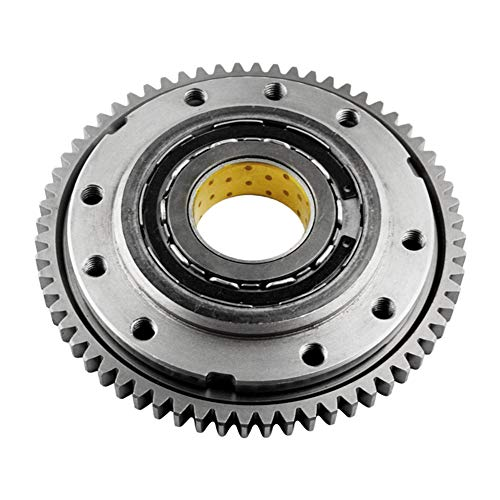 Starter Clutch One Way bearing Gear Assy for Aprilia RSV 1000 Mille Mille-R 1998-2003/SL 1000 Falco 2000-2003/RSV Tuono 2002-2005 -Road - Miller 2002 Aprilia Rsv