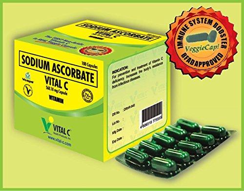 VITAL C SODIUM ASCORBATE (100caps) Review