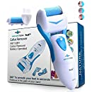 Electronic Foot File Callus remover- Scrubber And Shaver Pedi Spa for Dry Feet Best Pedicure foot Care Tools Set Shaves Dead Hard Cracked Skin - Extra Coarse Pumice stone Rollers For Man & Woman