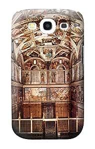 E0178 Michelangelo Sistine Chapel Funda Carcasa Case para Samsung Galaxy S3