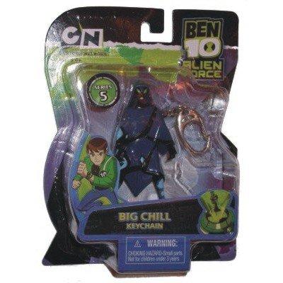 Ben 10 Big Chill Keychain (Cartoon Network Ben 10)