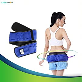 2c3aba5c25 X5 Infrared Cellulite Toning Belt By LifeShop – Vibration Heat Fitness Weight  Loss Waist Massager for Men   Women – Abdominal Trainer for Men – Butt Lift  ...