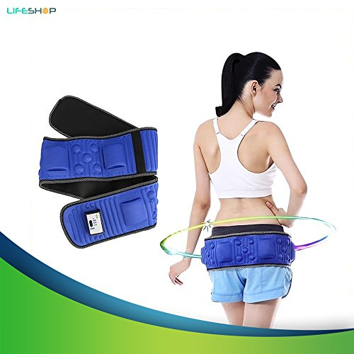 X5 Infrared Cellulite Toning Belt By LifeShop - Vibration Heat Fitness Weight Loss Waist Massager for Men & Women - Abdominal Trainer for Men - Butt Lift and Toner for Women
