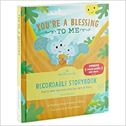 Youre A Blessing To Me Hallmark Recordable Storybook Meghan Craig