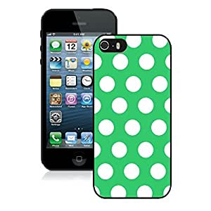 Dot Iphone 5s Black Silicone Case Iphone 5 Durable Soft Rubber Green and White Speck Cover