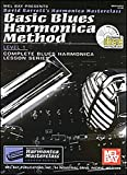 Mel Bay Basic Blues Harmonica Method Book/CD Set