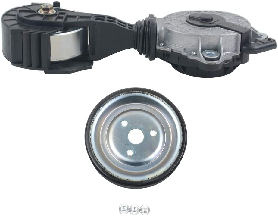 Ci-troen C3 C4 C5 Peu-gueot 208 308 508 DS 1.4 1.6 GELUOXI 7571013 7571012 Water Pump Pulley and Timing Belt Tensioner for BM-W F20 F21 F30 F31 1er 3er R55 R56 R57 R58 R59 R60 Mini