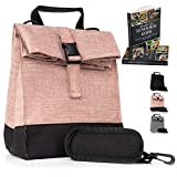 Thermal Insulated Medium Lunch Box Reusable Lunch Bag Medium Lunch Boxes for School