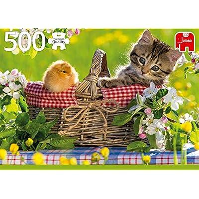 Premium Collection 18801 Pronto Per Un Picnic Puzzle Da 500 Pezzi Multicolore