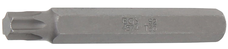 BGS T-Profil Bit ohne Bohrung, 75 mm lang, T50, 3/8 Zoll, 1 Stü ck, 4574