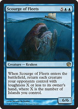 Magic: the Gathering - Scourge of Fleets (51/165) - Journey into Nyx