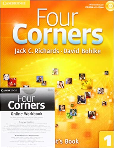 Four Corners Level 1 Student S Book With Self Study Cd Rom And Online Workbook Pack Amazon Co Uk Richards Jack C Bohlke David 9781107641747 Books