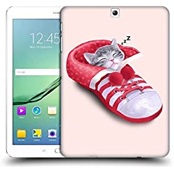 Official Tummeow Shoe Cats 2 Hard Back Case for Samsung Galaxy Tab S2 9.7