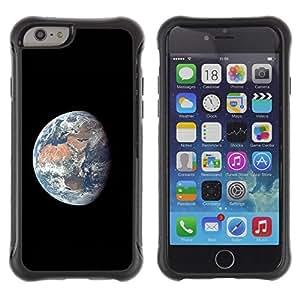 Suave TPU GEL Carcasa Funda Silicona Blando Estuche Caso de protección (para) Apple Iphone 6 / CECELL Phone case / / Planet Earth Comsmos Space Universe Sun /