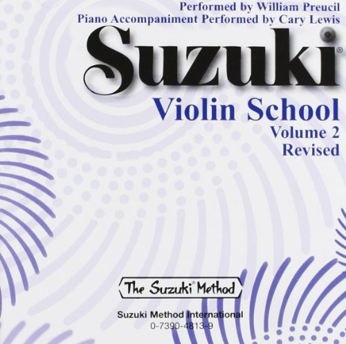 [Suzuki Violin School, Vol 2] (William Preucil Violin)