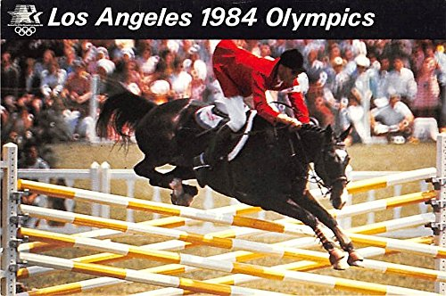 Equestrian Events, Los Angeles 1984 Olympics Los Angeles, California, CA, USA Old Vintage Track & Field Postcard Post Card