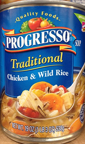 Progresso Traditional Chicken & Wild Rice Soup 19oz Can (Pack of ()
